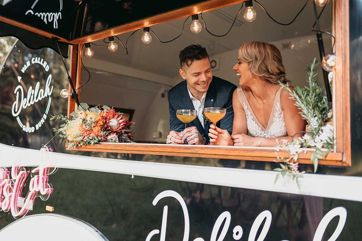A Van Called Delilah, Wedding Food Truck